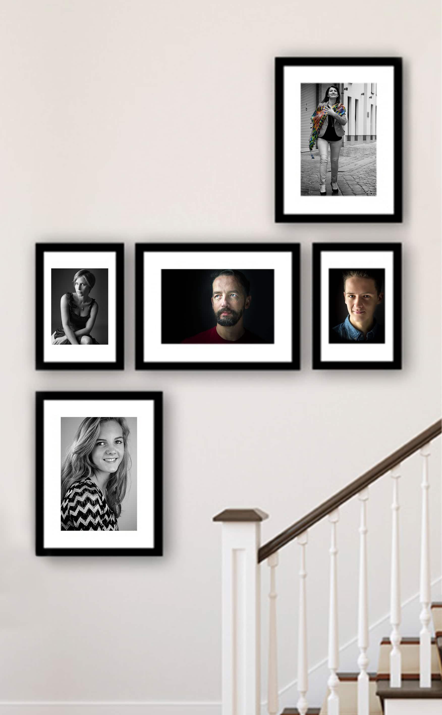 Photographe Halle Hal Portraits encadrés