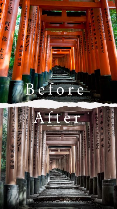 Before & After : Japan - Tokyo