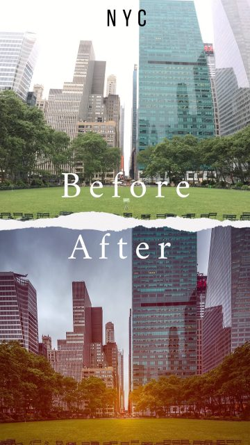Before & After : New York