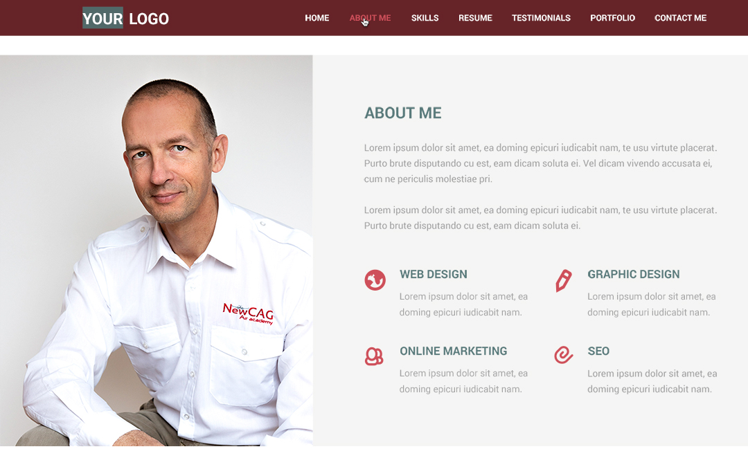 Votre image pour votre site web